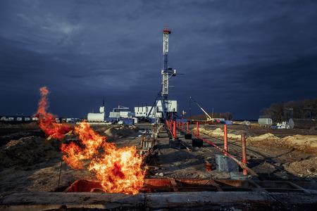 ООО Газпром добыча Краснодар  Процесс освоения скважины
