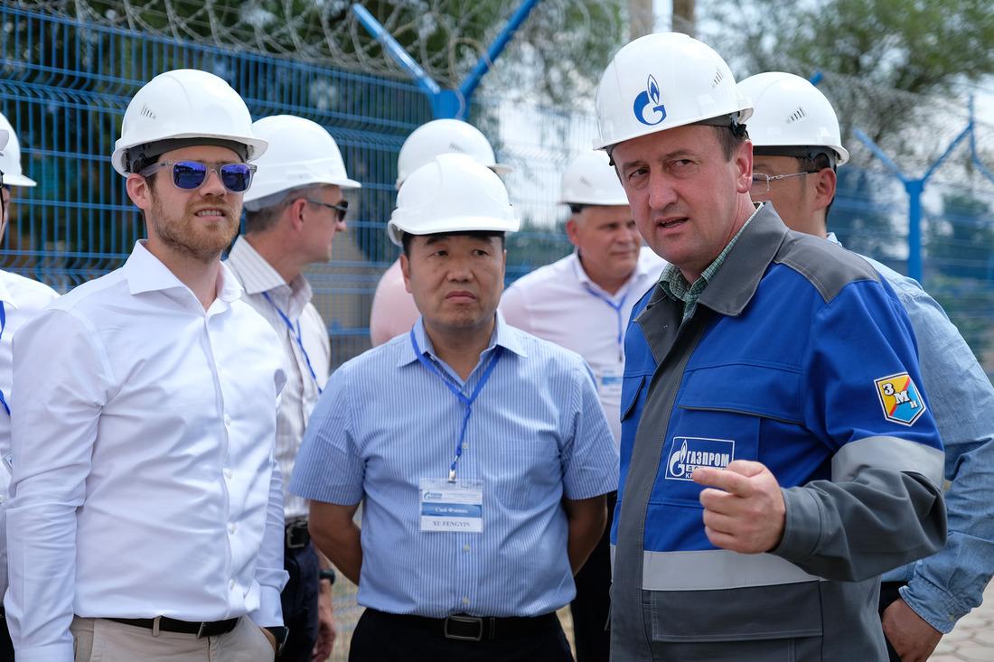 Посещение гостями газового промысла №2Светлоградского ГПУ
